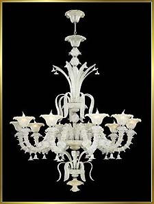 Chandelier Model: MD5116-10WHITE